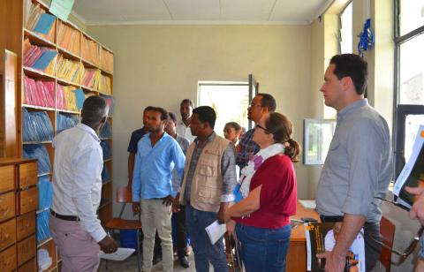 USAID and Save the Children team visit Health Care Unit